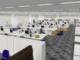 PL2 MMD Office Stage ( DL ) by xXONIONSXx