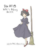 Kiki's delivery service by AirinNoSekai