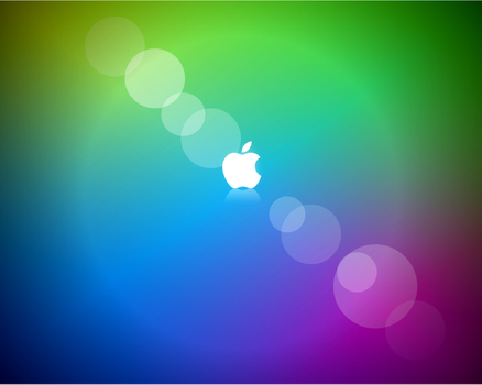 Wallpaper Apple Colors by jetc21