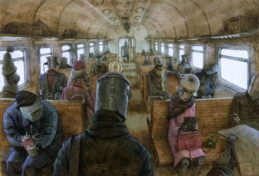 We are the robots by Waldemar-Kazak