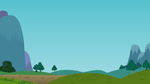 MLP Mountain Road Background by Deathfirebrony