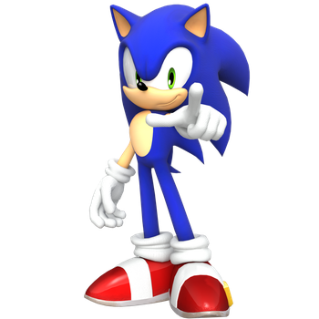 Yet another Sonic Render by JaysonJean