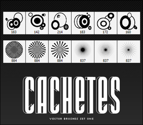 Cachetes Vector Brushes Set I by Cachetes