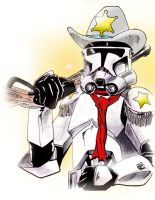 Cowboy Clone Trooper by Barnlord