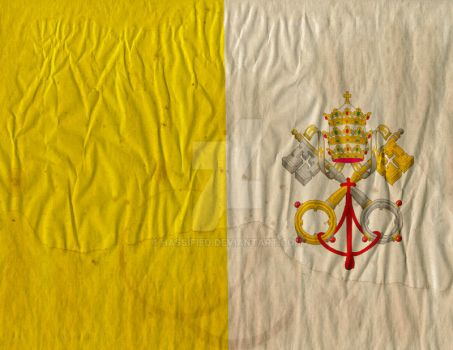 Vatican Flag by hassified