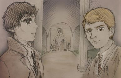 Incantations and Deductions {Fanart} by MoPotter