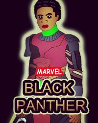 New Fan art of Black Panther by WillieD891
