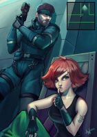 Metal Gear Solid by Lushies-Art