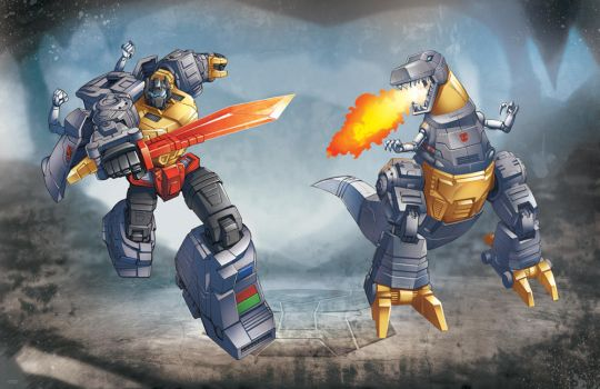 Grimlock: Transformers by ZeroMayhem