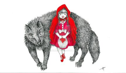 little red riding hood by hkimmie