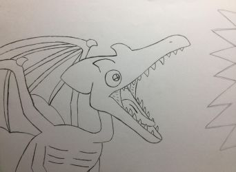 Ridley's eye by Doodlemaster1000