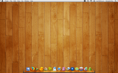 Wood Desktop by 7enMalox
