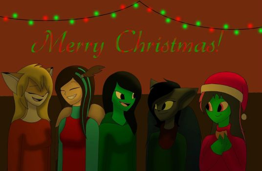 Gift ~ MERRY CHRISTMAS!!! by TammyWolfGirl