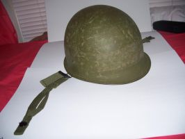 M-1 Helmet Post Vietnam 2 by Jan3090