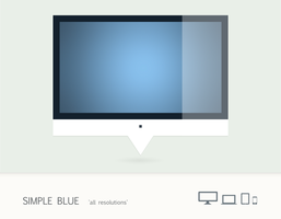 Simple Blue by leoatelier