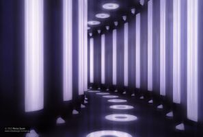 The light tunnel by robodesign