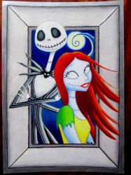 Jack and Sally by BlueHorizon89