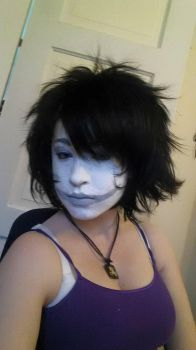 First make up test: Gamzee Makara by 0--Blank--0