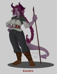 DnD Character Xandra by PlaidRed