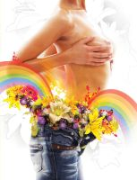 Flowers for Mandy by ollyhowe