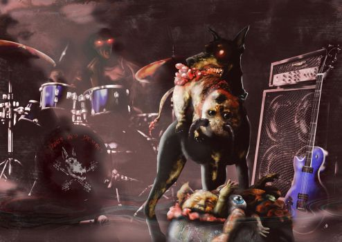 Dogs and Demons by Fladam