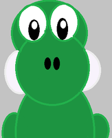 Simple Digital Yoshi by tootleytoo