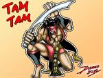 Tam Tam by TheInsaneDarkOne