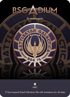 Galactica Crest Adium Icon by InterestingJohn