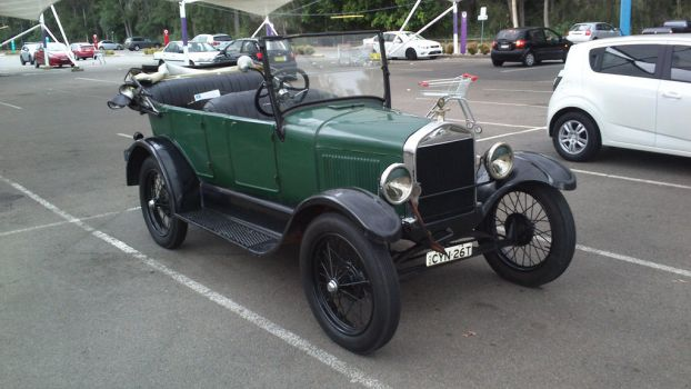 1926 Ford Model T Touring by TricoloreOne77