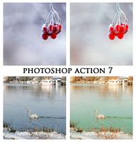 Photoshop Action 7 by SorrowfulSeptember