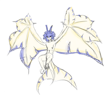Monsterboy Legiana sketch by MoonBuster