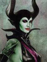 Maleficent by Art-by-Jilani