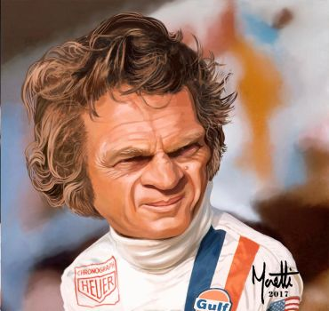 Steve McQueen-Le Mans by olivier77