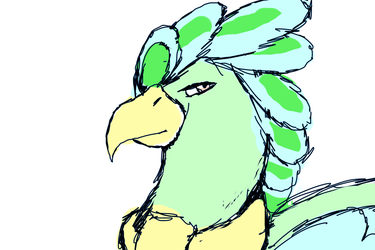 OTA Boredom Parrot by MutantWinProductions
