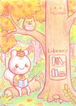 Tree Library by Mellymiew