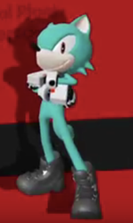 Sonic Forces:Me posing by BlakeRitter