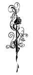Rose Quill Pen Tattoo by Best0for0Last