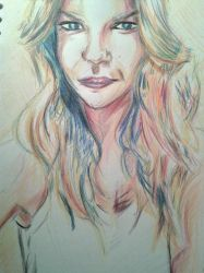 Darcy Coloured Pencil by Neutron-Flow