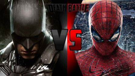 Death Battle Batman vs. Spider-Man Rematch by Alvin1794