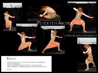 Peter is teh archer by Mithgariel-stock