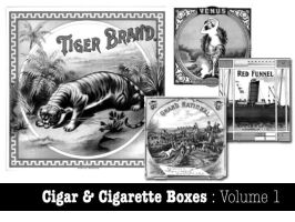 Cigar and Cigarette Boxes Vol1 by remittancegirl