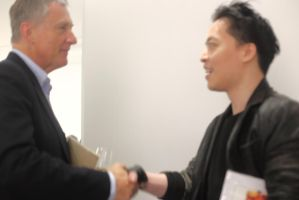 Michael Andrew Law Meet David Zwirner himself V by michaelandrewlaw