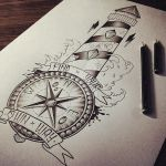 Lighthouse / Compass by EdwardMiller