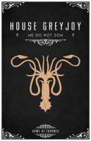 House Greyjoy by LiquidSoulDesign