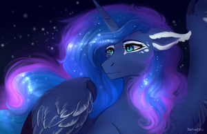 Princess Luna by Fenwaru