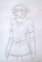 TP Link quick sketch by CynicalSonata