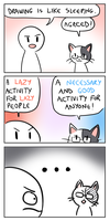 Lazy comic by Flavia-Elric