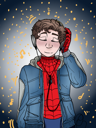 Spider boy's Jams by WiltingDaisy