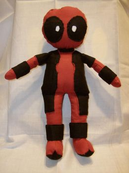 Unfinished Deadpool Plushie by furrychaos