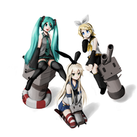 Commission - Vocaloid Collection by Csp499